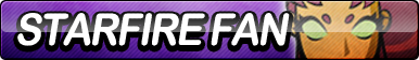 Starfire (Teen Titans) Fan Button