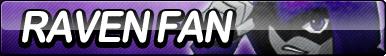 Raven (Teen Titans) Fan Button