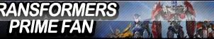 Transformers Prime Fan Button by ButtonsMaker