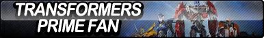 Transformers Prime Fan Button