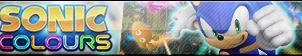 Sonic Colours Button by ButtonsMaker
