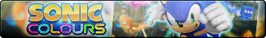Sonic Colours Button