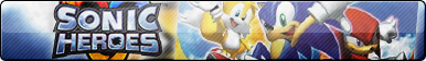 Sonic Heroes Button