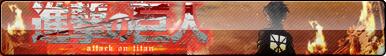 Attack on Titan (Shingeki no Kyojin) Fan Button