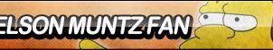 Nelson Muntz Fan Button by ButtonsMaker