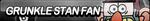 Grunkle Stan Fan Button by ButtonsMaker
