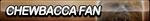 Chewbacca Fan Button by ButtonsMaker