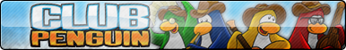 Club Penguin Fan Button by ButtonsMaker