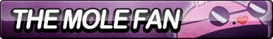 The Mole Fan Button by ButtonsMaker