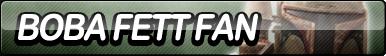 Boba Fett Fan Button