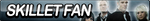 Skillet Fan Button by ButtonsMaker