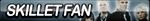 Skillet Fan Button by ButtonsMaker
