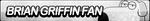 Brian Griffin Fan Button by ButtonsMaker