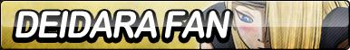 Deidara Fan Button by ButtonsMaker