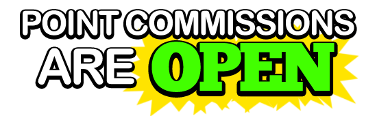 Point Commissions Button Status by ButtonsMaker