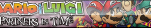 Mario and Luigi: Partners in Time Fan Button by ButtonsMaker