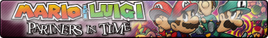 Mario and Luigi: Partners in Time Fan Button