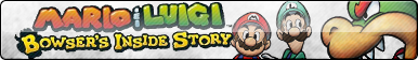 Mario and Luigi: Bowser's Inside Story Fan Button by ButtonsMaker