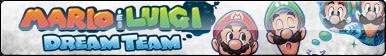 Mario and Luigi: Dream Team Fan Button