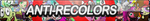 Anti-RECOLORS Fan Button (UPDATED) by ButtonsMaker