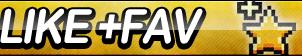 I like +fav Fan Button! by ButtonsMaker
