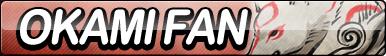 Okami Amaterasu Fan Button