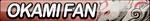 Okami Amaterasu Fan Button by ButtonsMaker