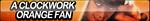 A Clockwork Orange Fan Button by ButtonsMaker