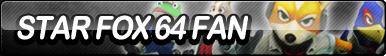 Star Fox 64 Fan Button