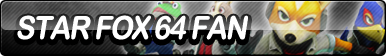 Star Fox 64 Fan Button by ButtonsMaker