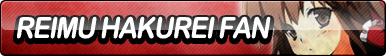 Reimu Hakurei Fan Button