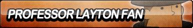 Professor Layton Fan Button