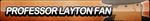 Professor Layton Fan Button by ButtonsMaker