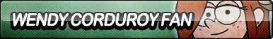Wendy Corduroy Fan Button