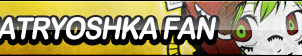 Matryoshka Fan Button by ButtonsMaker