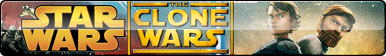 Star Wars: The Clone Wars Fan Button by ButtonsMaker