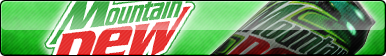 Mountain Dew Fan Button