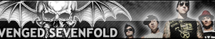 A7X  (Avenged Sevenfold) Special Fan Button by ButtonsMaker