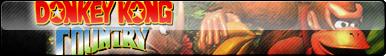 Donkey Kong Country Fan Button