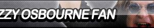 Ozzy Osbourne Fan Button by ButtonsMaker