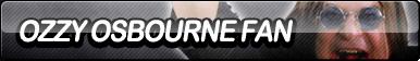 Ozzy Osbourne Fan Button