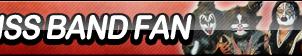 KISS Band Fan Button by ButtonsMaker