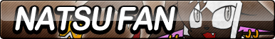 Natsu Fan Button by ButtonsMaker