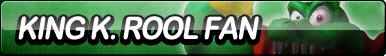 King K. Rool Fan Button by ButtonsMaker