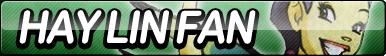 Hay Lin (W.I.T.C.H.) Fan Button
