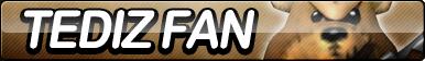 Tediz (Conker's Bad Fur Day) Fan Button