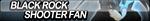 Black Rock Shooter Fan Button by ButtonsMaker