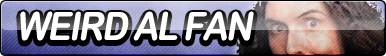 Weird Al Fan Button