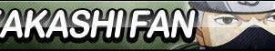 Kakashi Fan Button by ButtonsMaker