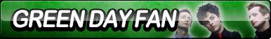 Green Day Fan Button by ButtonsMaker